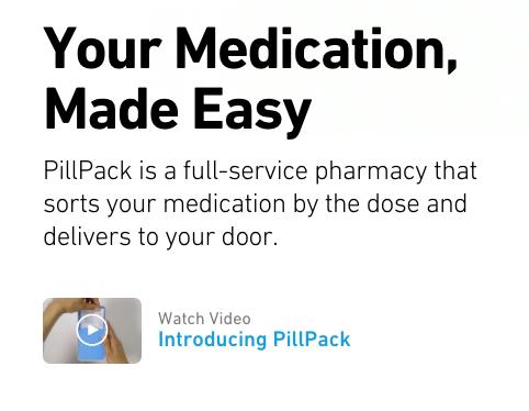 Pillpack video launcher